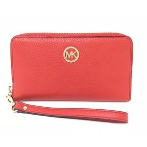 Michael Kors Fulton Large Flat Phone Case Wallet